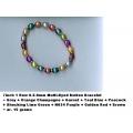 1 Row Button Bracelet - 02