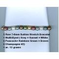 1 Row Button Bracelet-05